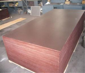 China Cheaper price brown film face plywood and black film face plywood, construction plywood on sale