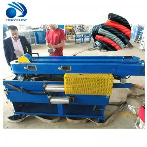 China CE Water Cooling Plastic Extruder Machine For PP PE PVC Corrugated Pipe on sale