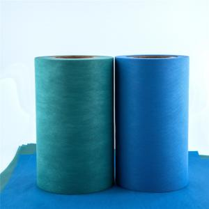 China Green 250gsm Spunbond Non Woven Interlining Fabric on sale