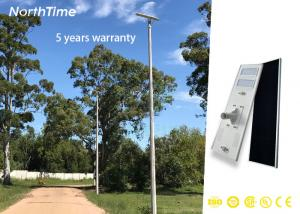 China Light Weight Solar Powered LED Street Light 120W / LED Gardden Lamp With Smart Sensor on sale
