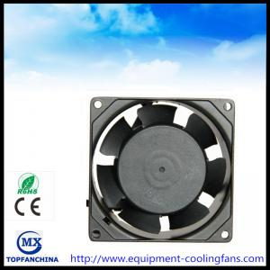China Metal Ball Bearing Cpu Computer Case Cooling Fans , 110v - 240v Ac Axial Fan on sale