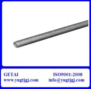 China DIN 975 Galvanized Mild Steel Threaded Rod on sale