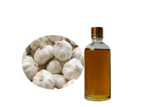 China Clear Amber Liquid 98% Garlic Extract Oil To Boost Immunity on sale