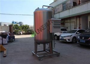 China RO Reverse Osmosis Water Storage Tank , Industrial Stainless Steel Water Tank on sale