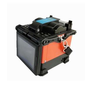 China High Precision 4 Motor Fiber Optic Fusion Splicer With METRO Menu 4.3 Inch Touch Screen on sale