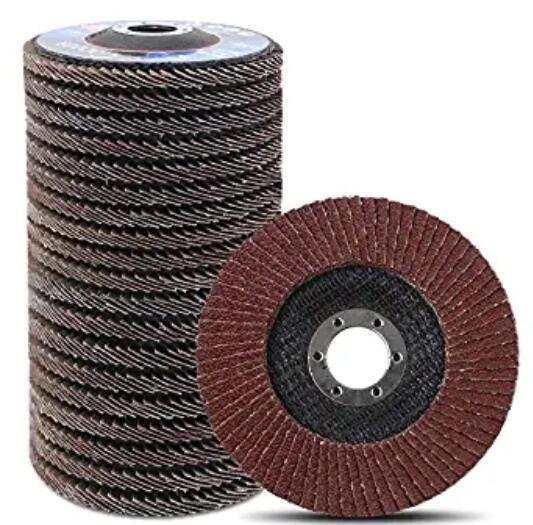Aluminum Oxide 12 Units Non-Woven Finishing Disc 8000 RPM 4-1//2 in Disc Dia