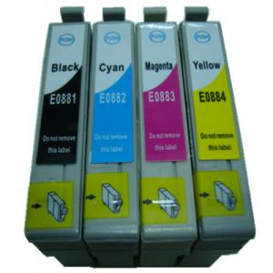China Inkjet Cartridge Compatible for Epson T0881/T0882/T0883/T0884 on sale