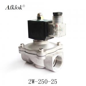 China SS304 1 inch 24 Volt Normally Closed Water Solenoid Valve on sale