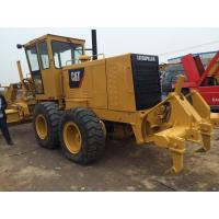 China Caterpillar 140H Working Time 1200h 6 Cylinders Old Road Graders on sale