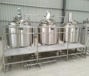 China commercial beer brewery equipment for sale,brewery house and fermenter tank on sale