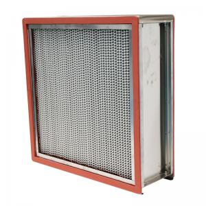 China High Temperature HEPA Air Filter 15.6㎡ Large Filter Area For Food Factory on sale