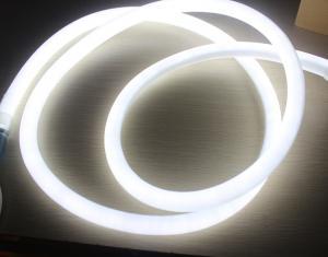 360 Degree Round Led Neon Flex 16mm Mini Rope Light 12v White Color Neonflex