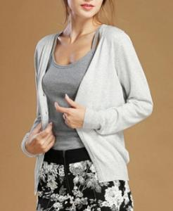 China Knit female cardigan long sleeve in the spring and autumn v-neck on sale