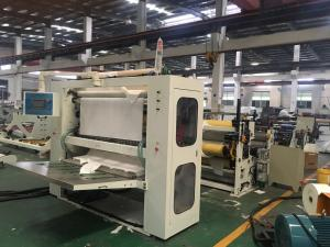 China Z Folded Tissue Paper Production Line Hand Towel / Kitchen Towel Folding Machine on sale