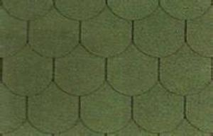 Quality Architecture Lightweight Fish Scale Asphalt Shingles Red Green Roof Tiles For