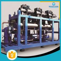 China Heat Exchanger Aluminum Fin Cold Room Condensing Unit on sale