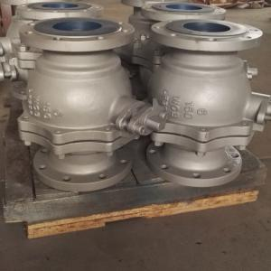 China 1/2-12 150lb -29-150centigrade Industrial Ball Valve on sale
