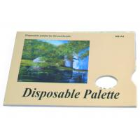 China Acrylic / Oil Painting Pad Disposable Palette Type , Artist Drawing Pad 48 sheets 58gsm on sale