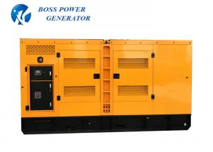China Electric Start Ricardo Diesel Generator 100KVA Yellow Color  Closed Water Cooled System on sale