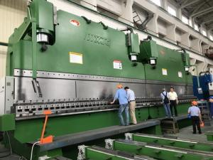 China WE67K800T/7000 Large sheet Metal hand bending Hydraulic Tandem Press Brake Machine on sale