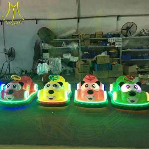 China Hansel hot selling plastic battery operated used bumper car ride for sale on sale