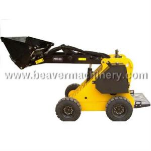 China Mini Wheeled Skid Steer Loader with CE certificate on sale