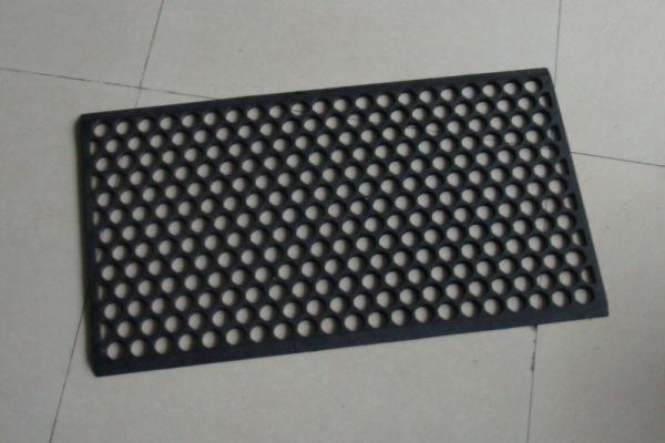Customised Door Mat With Holes Waterproof Rubber All Weather Floor Mats Images