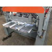 China IBR Sheet Metal Roofing Machine , 3kw Steel Roof Roll Forming Machine on sale