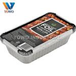 SASO 500ml Disposable Aluminum Foil Food Containers