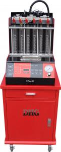China Ultrasonic Car Engine Fuel Injector Cleaning Machine , 6 Cylinders CE on sale