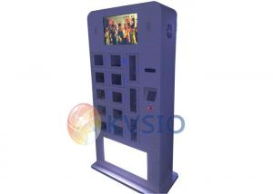 China Free Standing Cell Phone Charging Kiosk , Cell Phone Charging Station Kiosk on sale