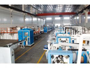 China 1200sheet/Min Embossing Bag Tissue Paper Machine V Fold on sale