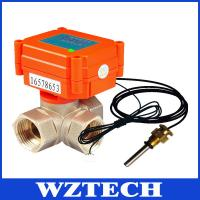 China External temperature, flow , pressure sensors intelligent electric valve provides M-bus, R on sale