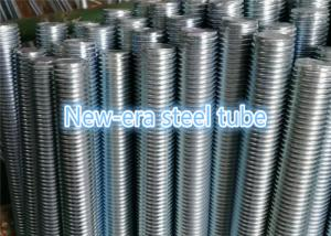 China Brass Threaded Steel Rod Hot Dip Galvanized 1000 - 6000mm Length 1 / 4 '' To 4 '' Sizes Range on sale