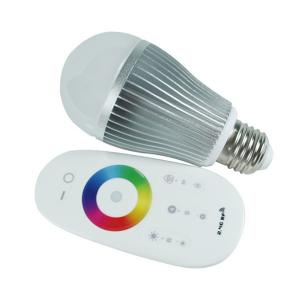 China 2.4G Touch Screen Remote Control RGB LED Bulb on sale