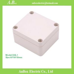 China 63*58*35mm small plastic electronic enclosures small plastic cases small plastic boxes on sale