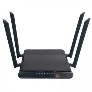 China MTK7628 Dual Sim 3G 4G Wifi Router With Dual 4G Modems 300Mbps Rate on sale