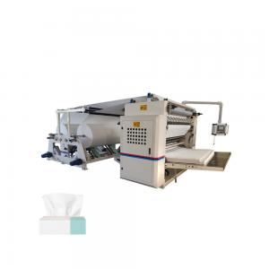 China Full Embossing Multi Width Facial Tissue Paper Making Machine Roll Slitter on sale