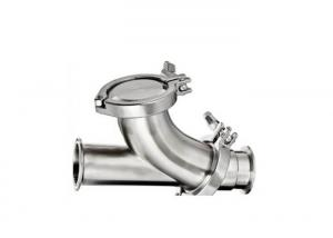 China Y - Ball  2 Inch SS Check Valve  Two Piece Hygienic Check Valve For Pharmaceutical Industry on sale