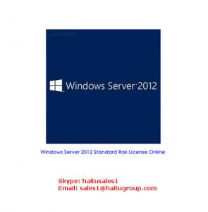 China Windows Server 2012 Std Rok 2CPU or VM key code on sale