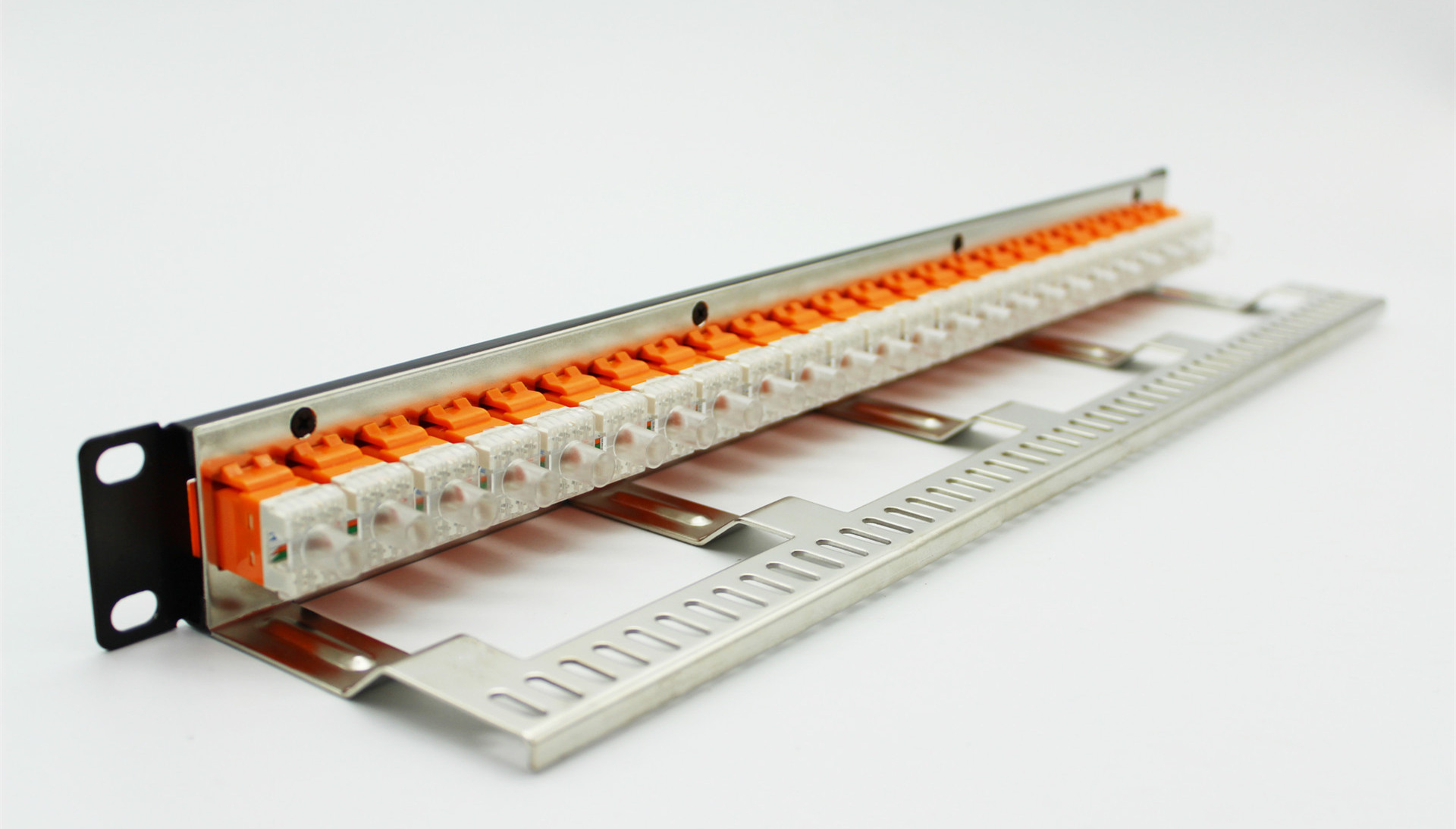 Network Cat5e Modular Patch Panel 24port Rj45 Panels With Wiring Telephone 110 To Rj 45 Keystone Jacks For Sale Copper Cabling Accessories Manufacturer From China 105787795