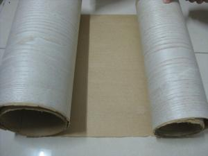 China Finger Jointed Wood Veneer Rolls With Fleece Backed For Furniture, Door Profile Edging on sale