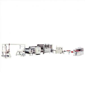 China 82KW 6lines Facial Tissue Paper Machine Facial Tissue Log Saw on sale