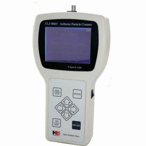 China Rechargeable Li Ion Battery Ft3 M3 Handheld Particle Counter on sale