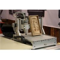 China aman 2030 4-axis 1500W 3d cnc wood carving machine wood engraving cutting lathe on sale