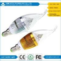 China E14 Indoor Led Candle Light Bulbs 4W 120° Ra75 For hotel on sale