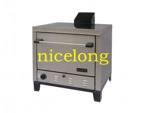 China Nicelong stainless steel LPG gas pizza oven, can be used as gas baking oven JPOG76 on sale