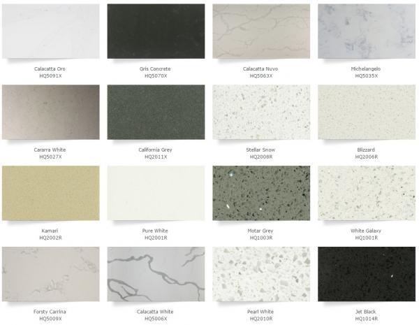 Gray Quartz Kitchen Countertops