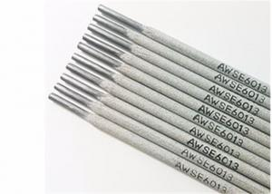 China White - Gray DC AC Stainless Steel Wire Welding Electrode E6013 7018 Type on sale