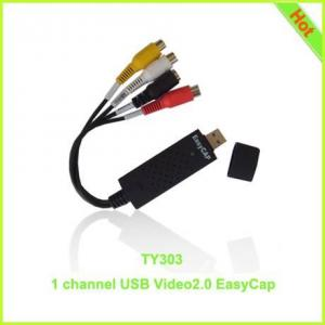 China TY303: 1 channel usb2.0 video easycap on sale